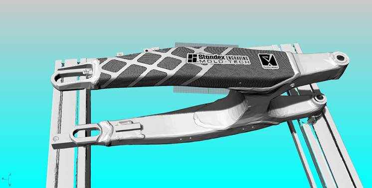 3D Model of the Swingarm