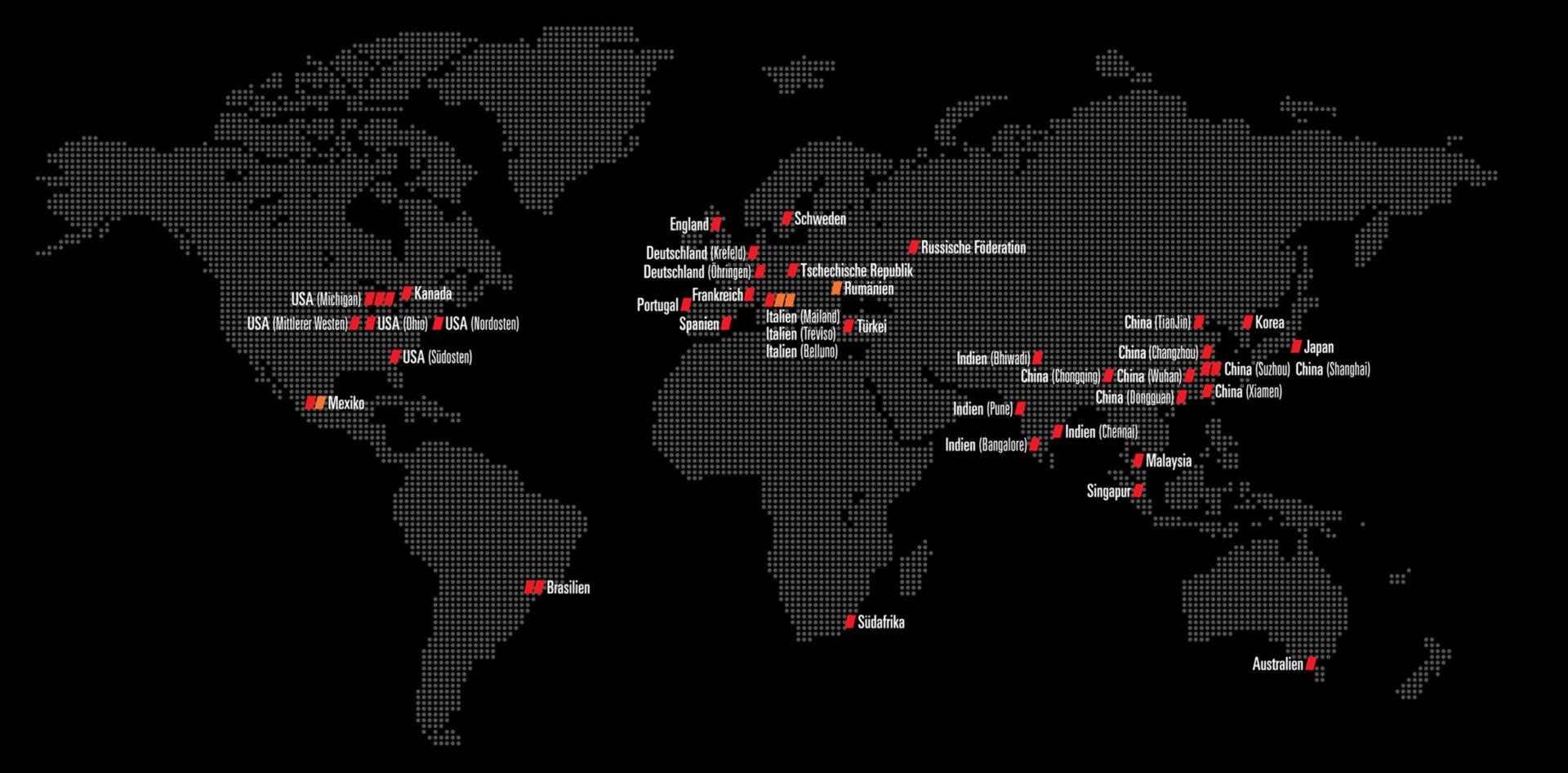 German Global Map