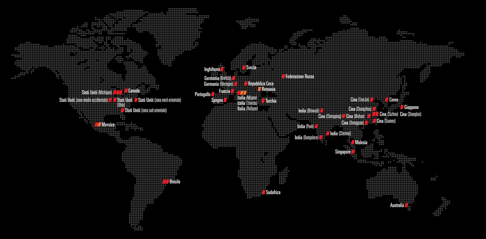 Italian Global Map